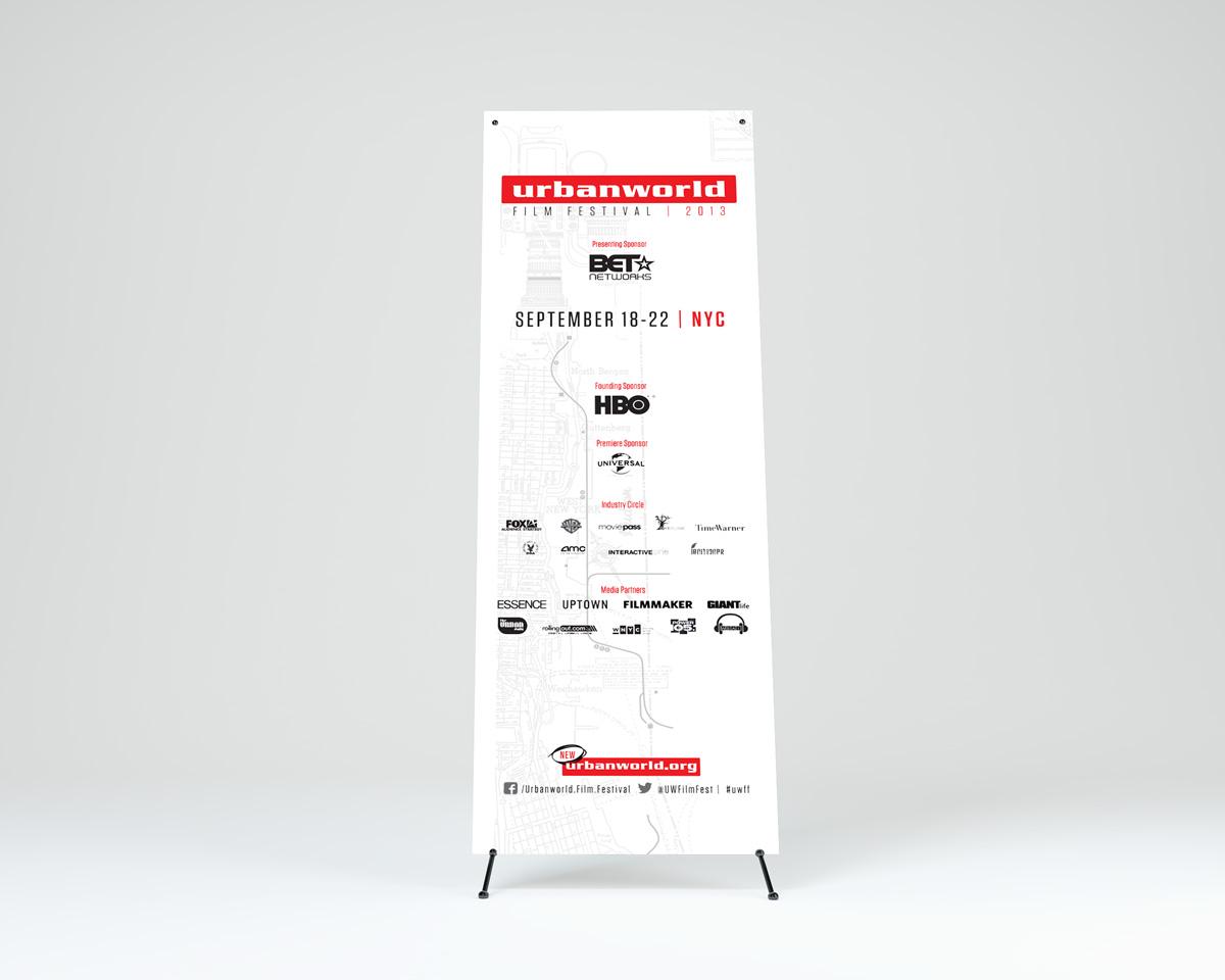 UW13 Standing Banner