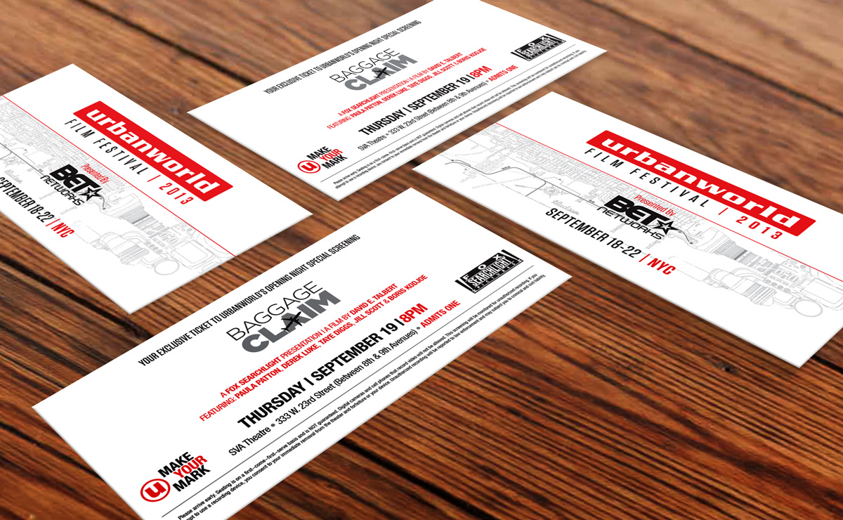 UW13 Premiere Tickets