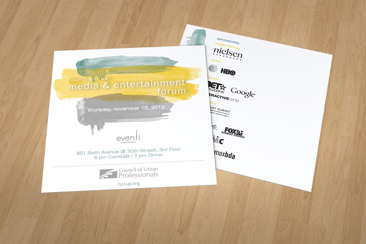 Media & Entertainment Forum - Invite