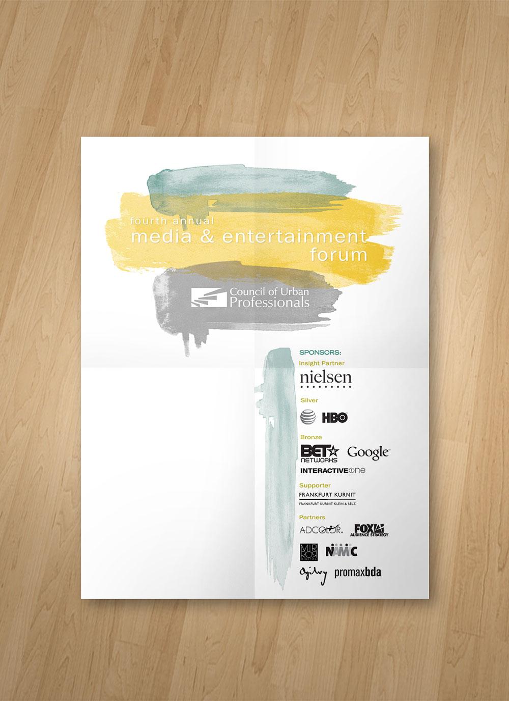 Media & Entertainment Forum - Poster