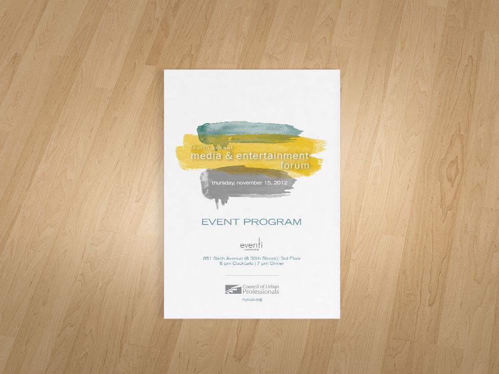 Media & Entertainment Forum - Program